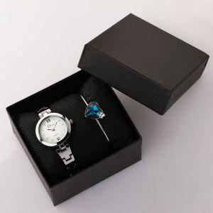 """Подарочный набор 2 в 1 """"Эмпирадо"""": наручные часы и браслет   4508125"""