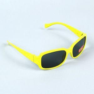 """Очки солнцезащитные детские """"Oversize"""", оправа и форма МИКС, линзы чёрные, 13 ? 4.5 ? 3.5 см"""