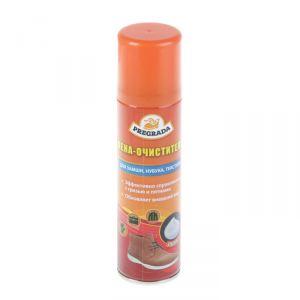 Аэрозоль пена -очиститель Pregrada для обуви из кожи, замши, нубука, ткани,150 мл 2868916