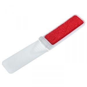 Щётка для чистки одежды складная 9,5?3,5 см, цвет белый
