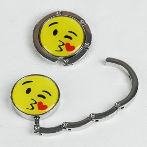 Крючок для сумки и зонта «Смайл-поцелуйчик», d = 4,5 см