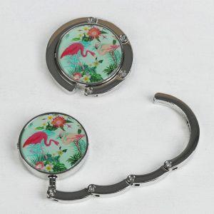Крючок для сумки и зонта «Фламинго», d = 4,5 см