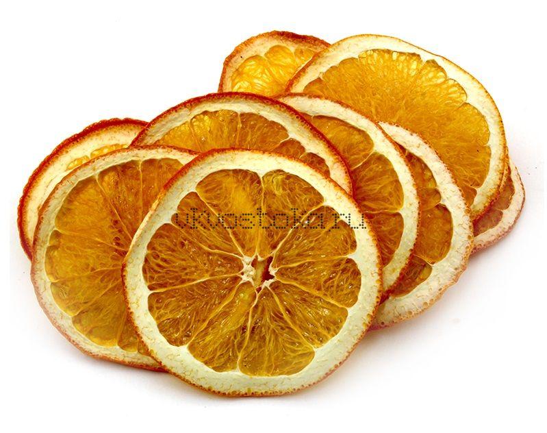 Апельсин сушеный натуральный уп-500гр