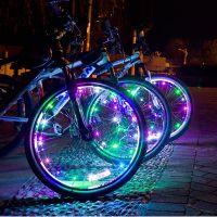 Подсветка для велосипедных колес Wheel Light Spoke Light 20 LED (цвет разноцветный)_2