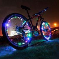 Подсветка для велосипедных колес Wheel Light Spoke Light 20 LED (цвет разноцветный)_1
