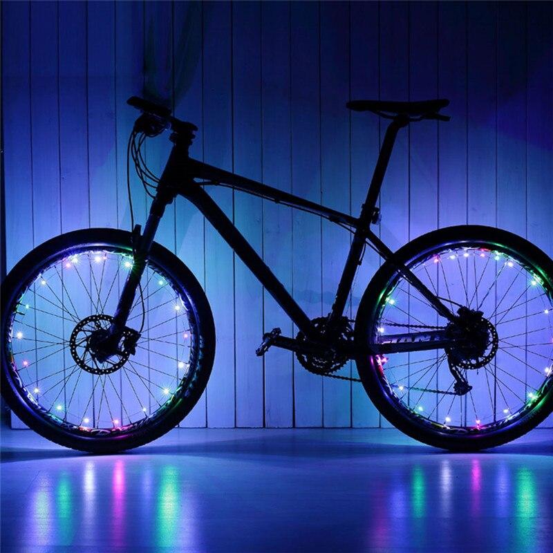 Подсветка для велосипедных колес Wheel Light Spoke Light 20 LED (цвет разноцветный)
