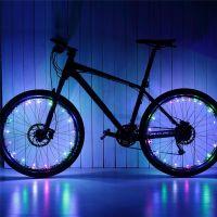 Подсветка для велосипедных колес Wheel Light Spoke Light 20 LED (цвет разноцветный)_6