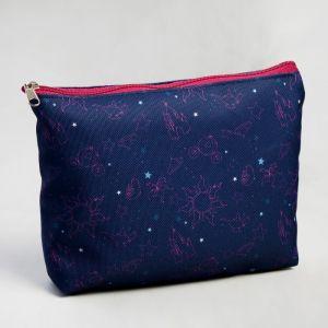 Косметичка «Созвездия», 20 х 12 см, отдел на молнии, без подклада, Принцессы