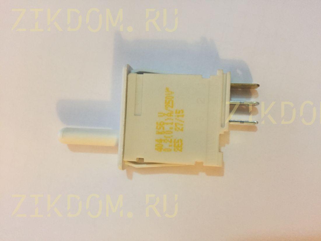 Выключатель света х-ка Bosch белый 3 контакта, длина штока 1,5 см, 0,1А