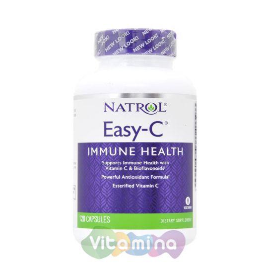 Natrol Витамин С Easy-C 1000 мг, 120 капс