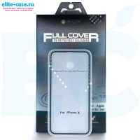 Купить защитное стекло Mocoll Storm Full Cover для Apple iPhone X черное 0.33mm
