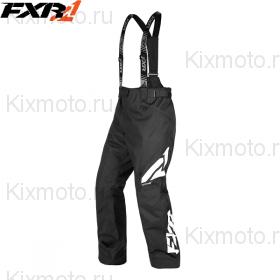 Полукомбинезон FXR Сlutch FX - Black/White мод. 2019