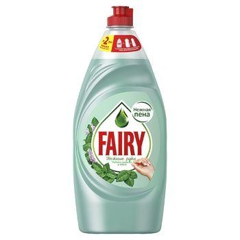 Средство для мытья посуды Fairy Нежные руки чайное дерево-мята 900мл