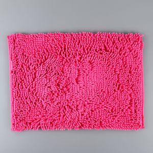 Коврик «Букли», 40?60 см, цвет розовый