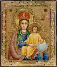 Икона Богородицы Прежде Рождества и по Рождестве Дева