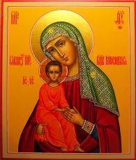 Икона Пресвятой Богородицы Московская