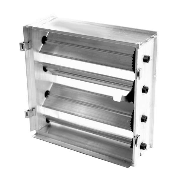 Потолочная решетка  450х450 (с клапаном расхода воздуха)