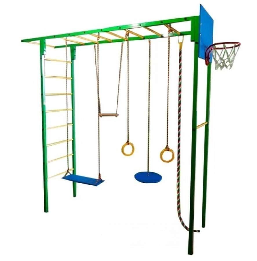Детский спортивный комплекс Олимпик 3.1, зелёный
