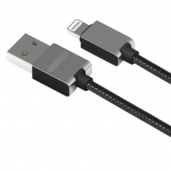 Кабель USB 2.1А EZRA DC-08 (iOS Lighting) 1.2м