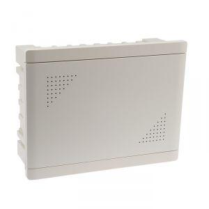 Бокс мультимедийный TDM, БМ-ВП-01, 420х320х150, ТВх4, ТФх5, 2 сетевых мод., колодка питания 4214423