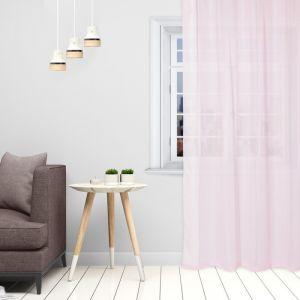 Тюль «Этель» 140?300 см, цвет розовый, вуаль, 100% п/э