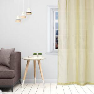 Тюль «Этель» 145?270 см, цвет оливковый, вуаль, 100% п/э