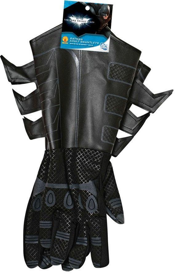 Детские перчатки Бэтмена черные