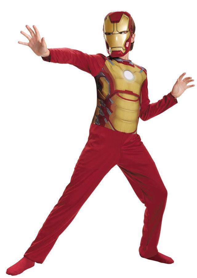Детский Костюм Железного Человека Marvel