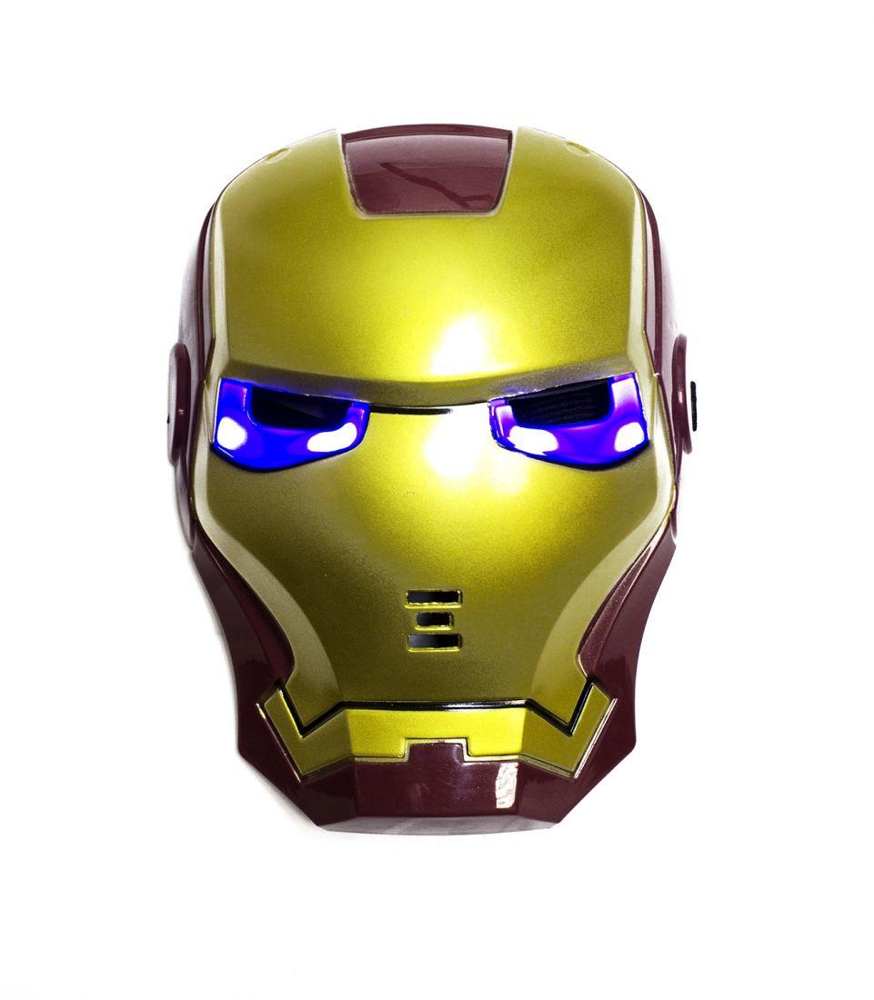 Маска Железного Человека детская