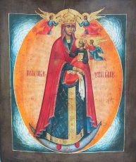Икона Пресвятой Богородицы Жена Облеченная В Солнце