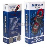 МЕГЕОН 70068 Цифровые токоизмерительные клещи, мультиметр купить с доставкой по России и СНГ