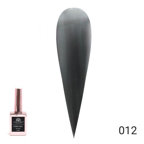 HARD GEL  гель для наращивания и укрепления ногтей 15ml №12 Global Fashion