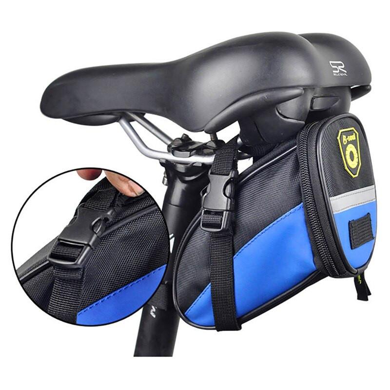 Велосипедная сумка под сиденье B-Soul. Цвет Синий