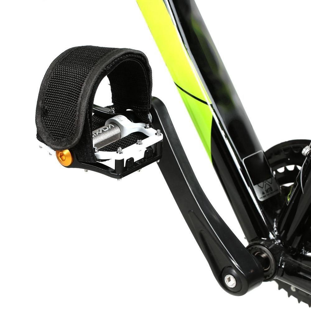 Ремешки (туклипсы) для велосипедных педалей, 2 шт. Цвет Черный