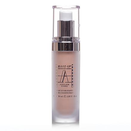 Make-Up Atelier, Base Teint Éclat  BASEE  База увлажняющая с эффектом сияния, бутылочка с дозатором