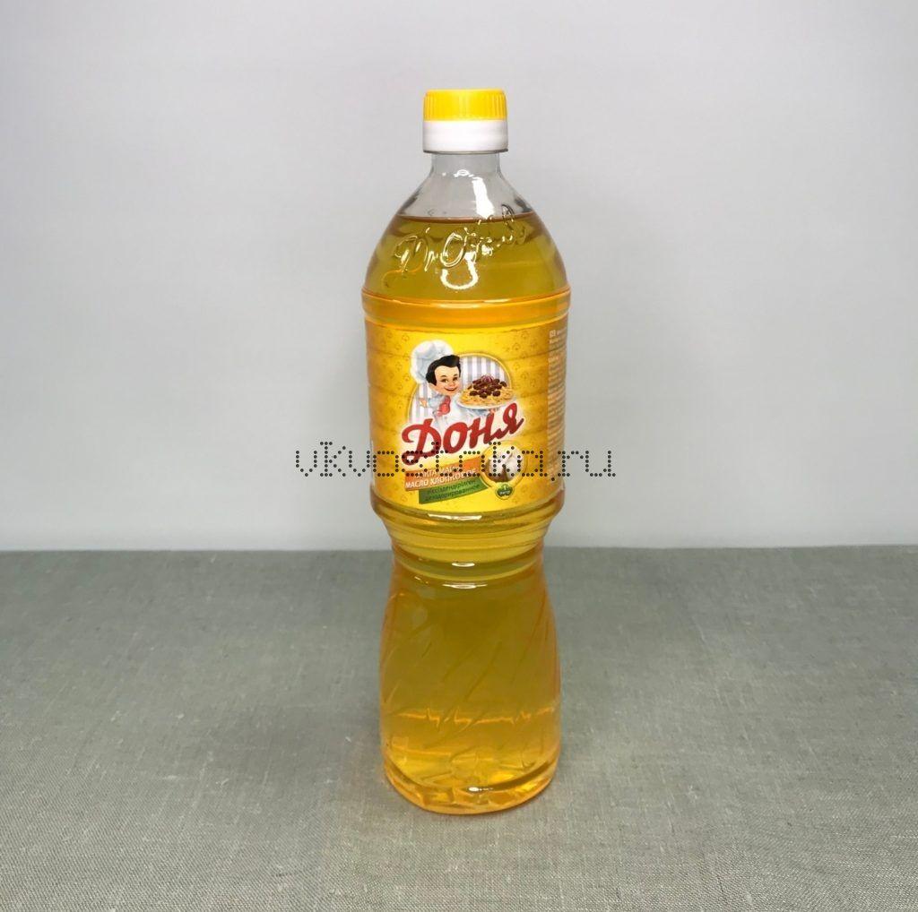 Хлопковое масло 1 л