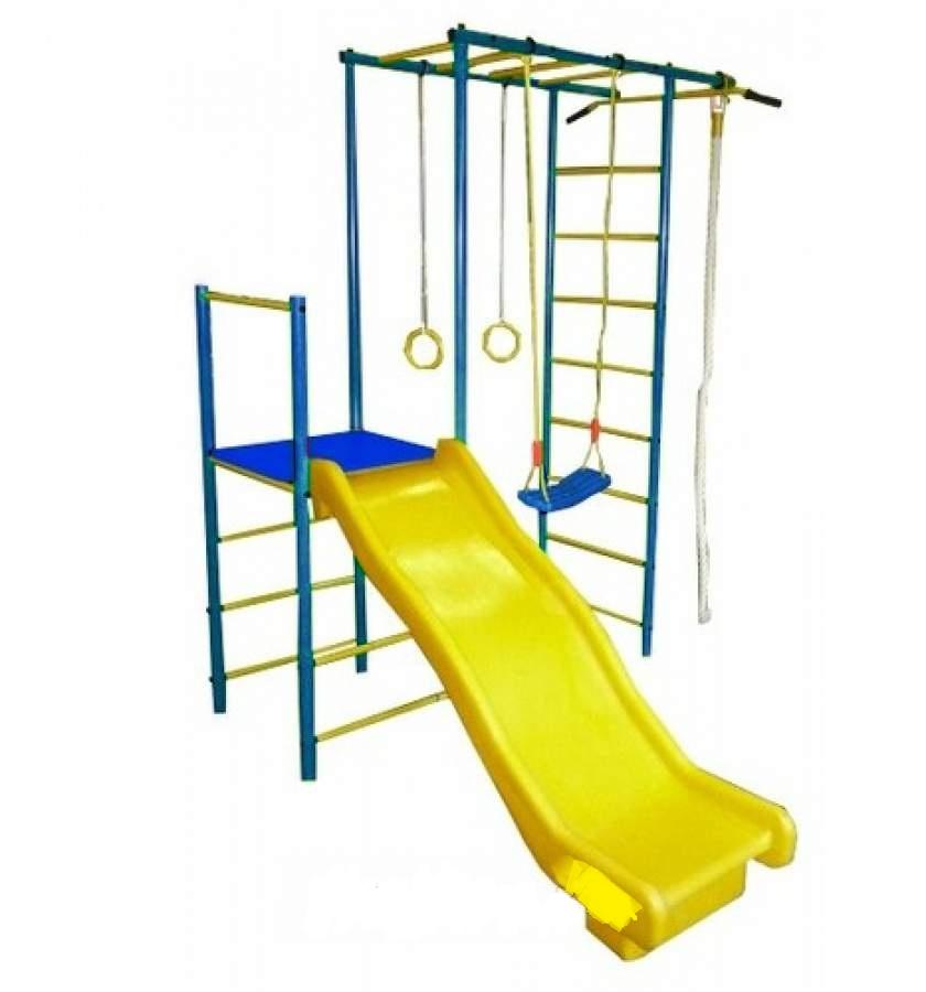 Детский спортивный комплекс Олимпик 6, синий