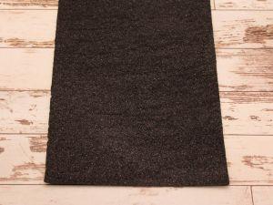 """`Фоамиран """"глиттерный"""" Китай, толщина 2 мм, размер 20x30 см, цвет черный"""