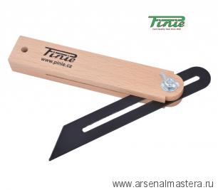 Малка деревянная 350 мм со стальной пластиной PINIE 40-7