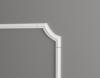 Декоративный Уголок Dekor-Dizain С1-157А Белая Лепнина Д145хВ30хТ13 / Декор Дизайн