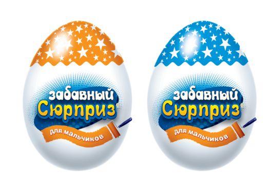 Забавный сюрприз для мальчиков, яйцо с игрушкой 20 гр 6*24 (ES-1-2/ZS)