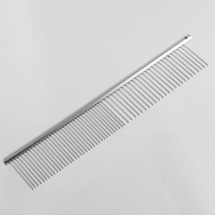 Расчёска грумерская стальная