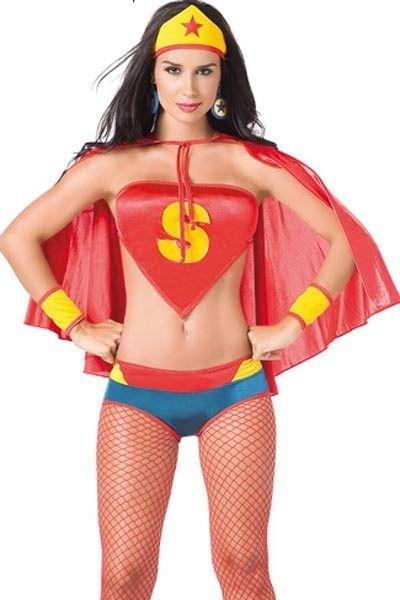 Костюм сексуальной супервумен