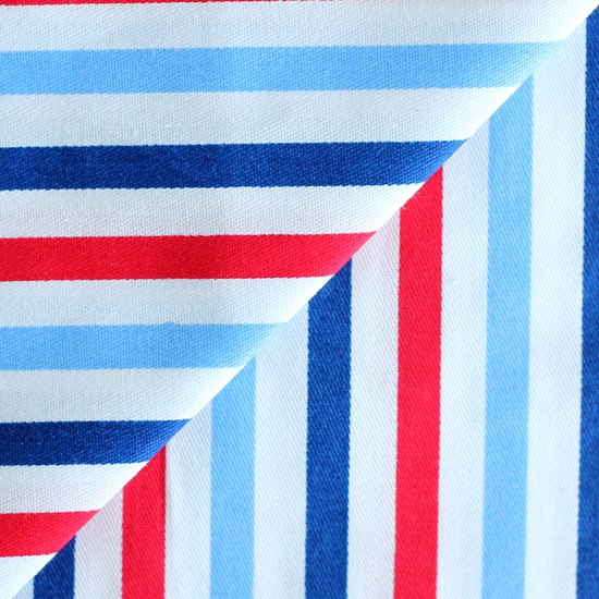 Ткань хлопок Цветные полосы 50х40