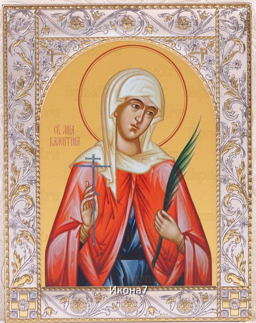 Икона Валентина Кесарийская (14х18см)