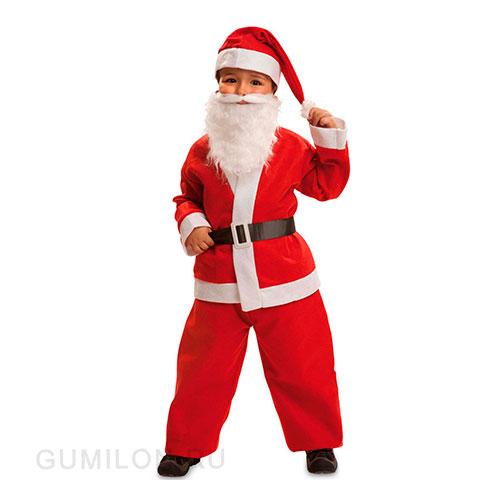 Детский костюм Санта Клауса для мальчиков, 6-9 лет