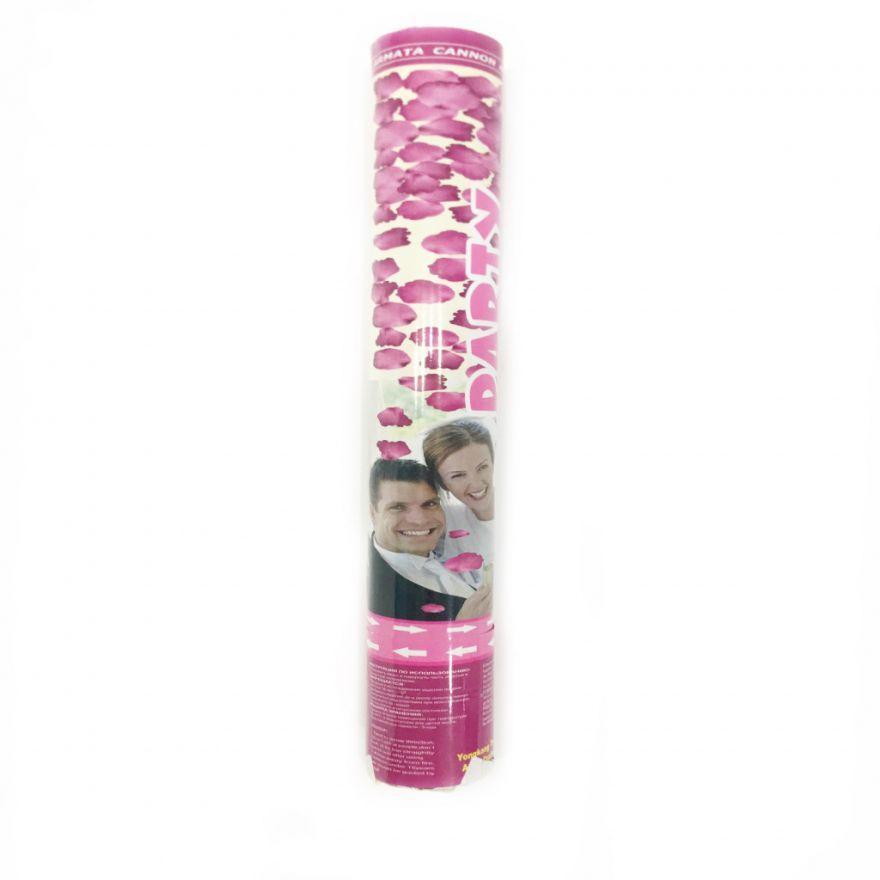 Хлопушка с лепестками роз Party Popper (Большая, 60*5 см)