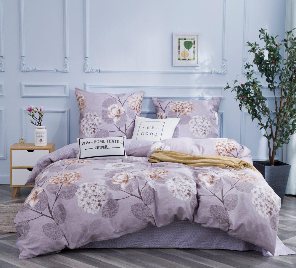 Комплект постельного белья Евро Сатин C346