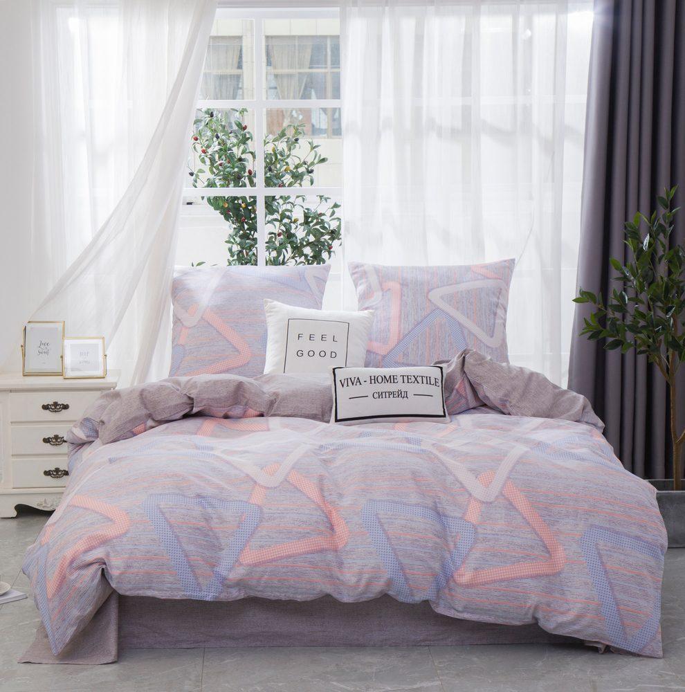 Комплект постельного белья 1.5 спальный Сатин C360