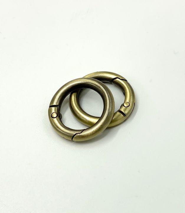 Кольцо разъемное 20*30 мм бронза